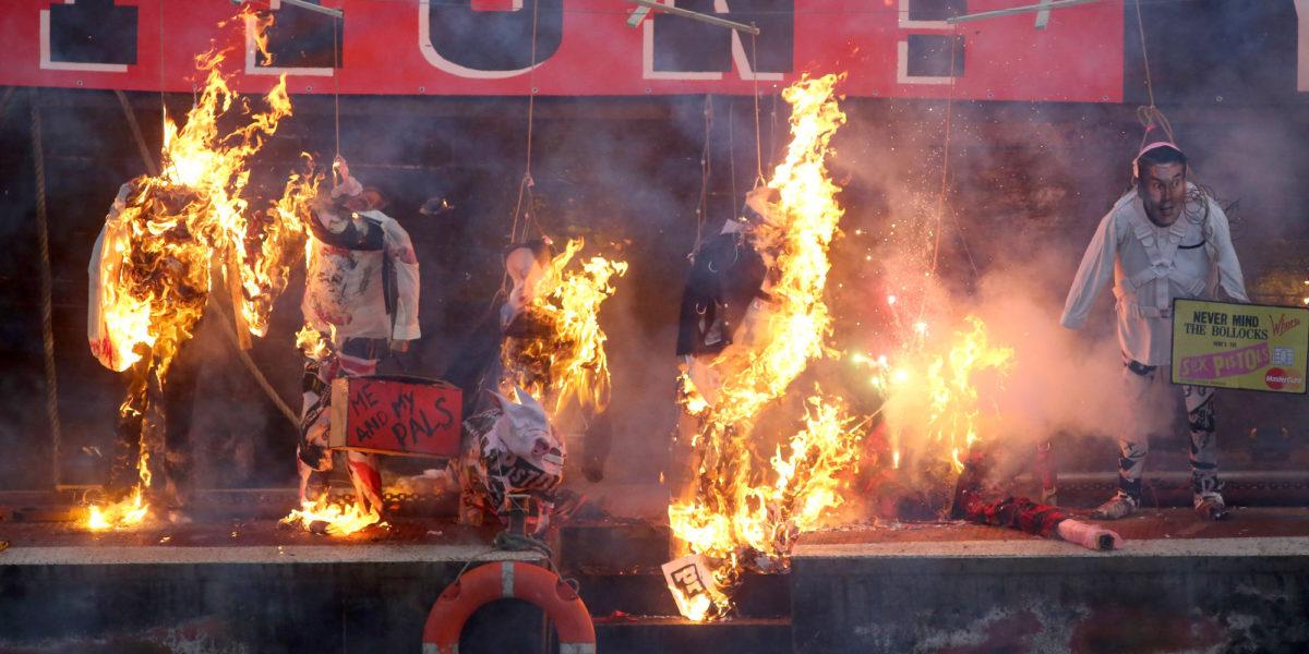 Sex Pistols Manager's Son Torches Punk Memorabilia Worth Millions