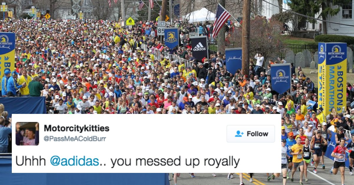 Someone at Adidas Is Probably In Big Trouble Over This Marathon Email