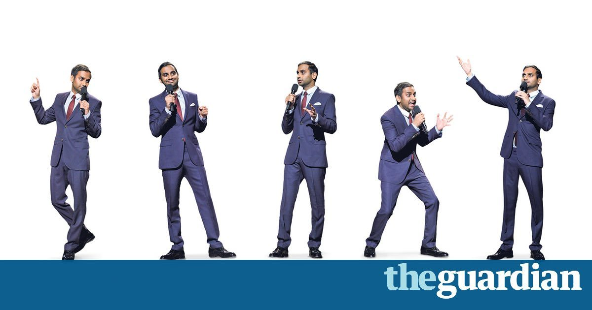 Aziz Ansari: I try to write political material  then get tired of it
