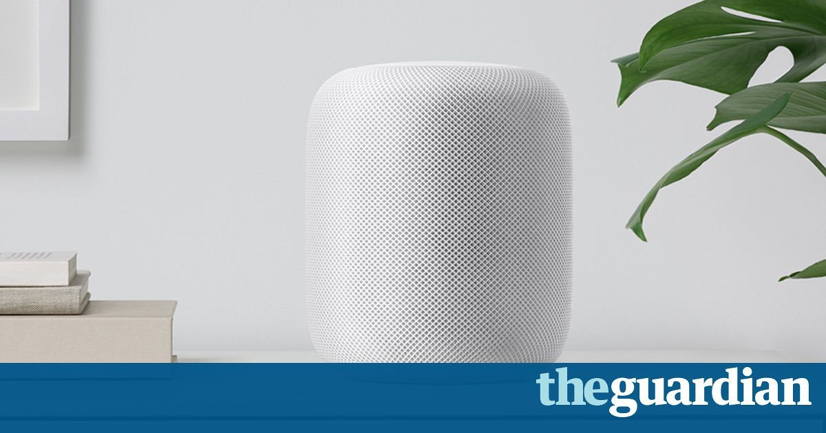 Apple unveils HomePod speaker to take on Amazon Echo and Google Home