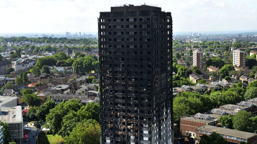 Grenfell cladding '14 times combustibility limit' – BBC News