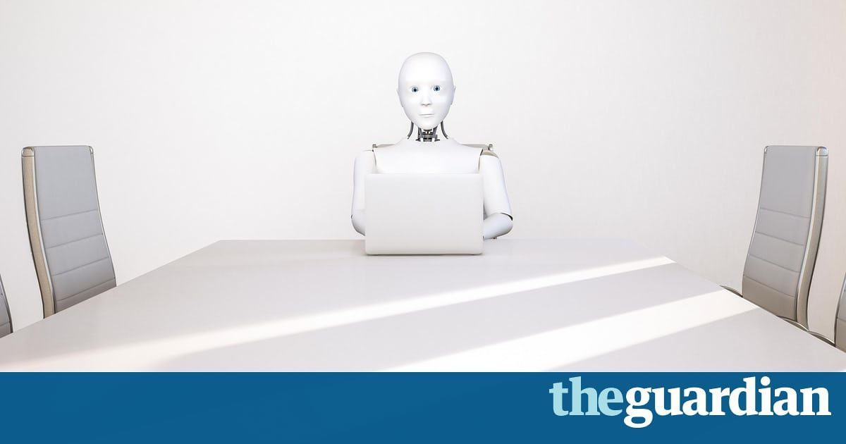 Come friendly robots and take our dullest jobs | John Naughton