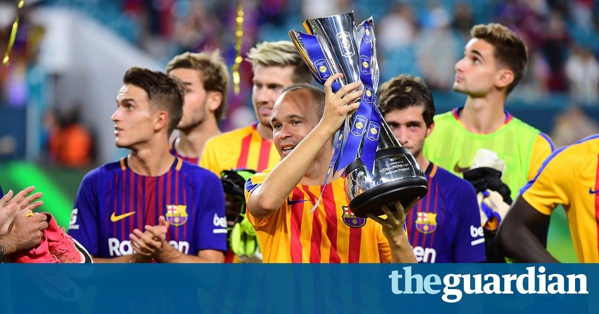 Barcelona, Real Madrid and Manchester rivals whet US appetite for elite game | Bryan Armen Graham
