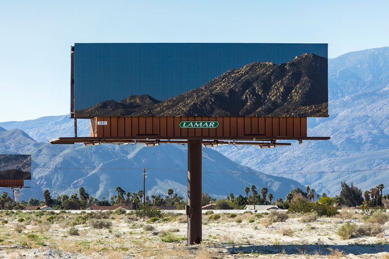 Artist Replaces Billboards with Photos of the Landscapes Theyre Blocking