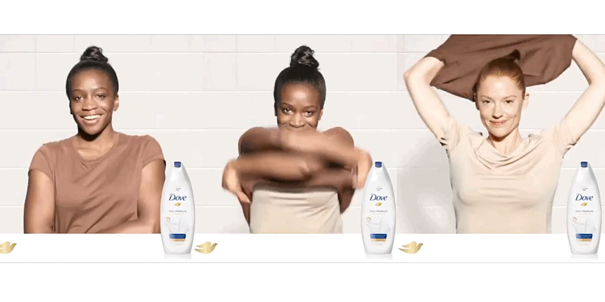 Dove under fire for racist Facebook adand weak apology