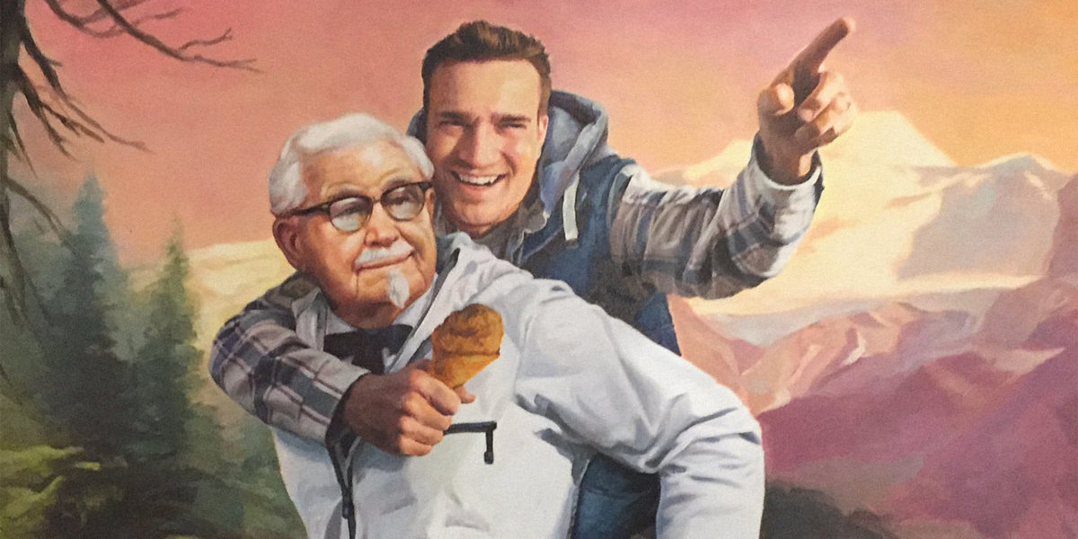 Was the man who discovered KFC's big Twitter stunt a PR plant?