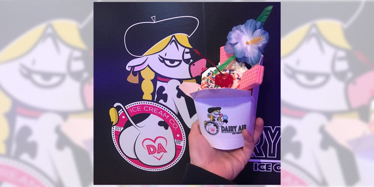 Ice cream shop's oversexed cow mascot goes viral
