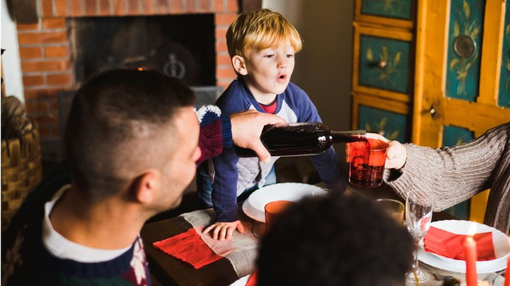Parents give children alcohol 'too young'